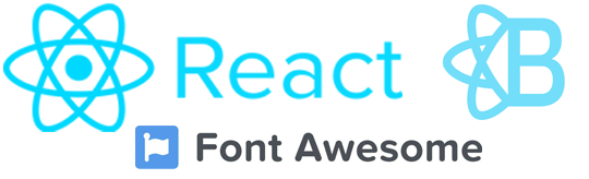 React Bootstrap Font Awesome